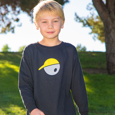 Oh Boy Sports Oh Face Long Sleeve T-Shirt for Kids