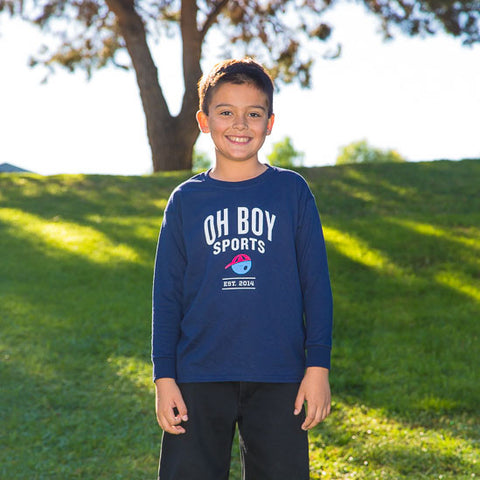 Oh Boy Sports Est. 2014 Long Sleeve T-Shirt for Kids
