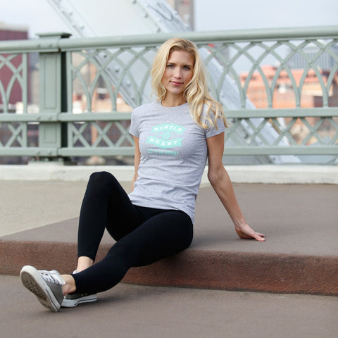 Hustle & Heart T-Shirt for Women