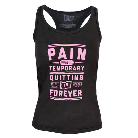 Pain Is Temporary Tank Top for Women