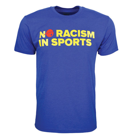 No Racism in Sports T-shirt for Men
