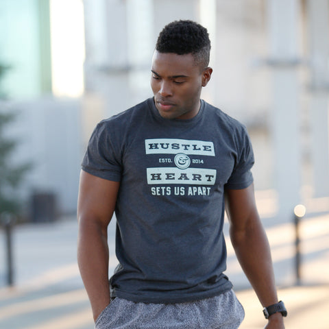 Hustle and Heart T-Shirt for Men