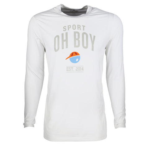 Est. 2014 Long Sleeve Performance T-Shirt for Men