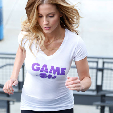 Game On! V-Neck T-Shirt for Women