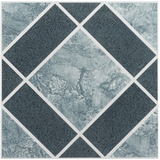 Achim Home Furnishings FTVGM30320 Nexus 12-Inch Vinyl Tile, Geo Light and Dark Blue Diamond Pattern