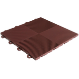 BlockTile Flooring Perforated Interlocking Tiles - 30 Pack