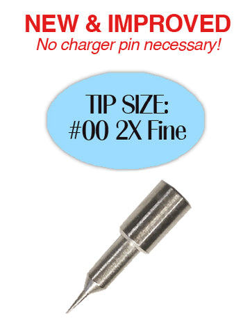 Replacement Tip #00 2X Fine