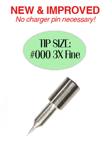 Replacement Tip #000 3X Fine