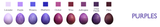 Batik Egg Dye Purple
