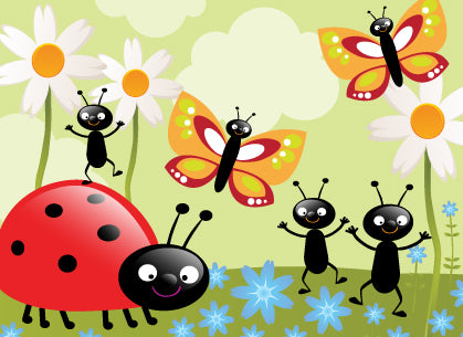 Happy insects