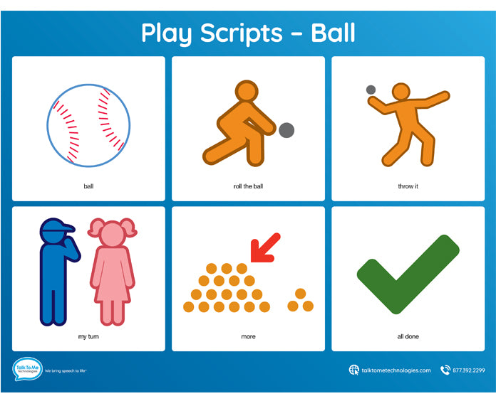 AAC Play Scripts - Ball