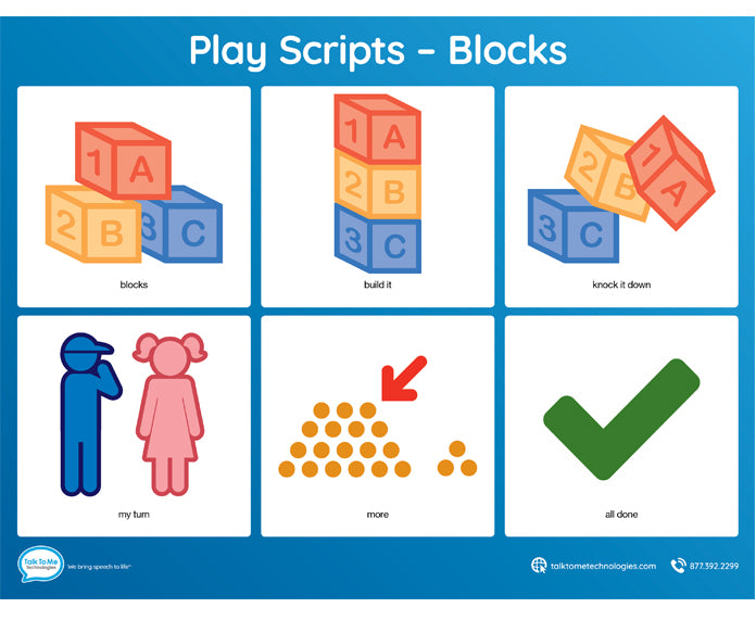 AAC Play Scripts - Blocks