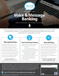 Voice and message banking