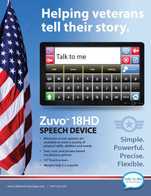 Zuvo 1218 for veterans