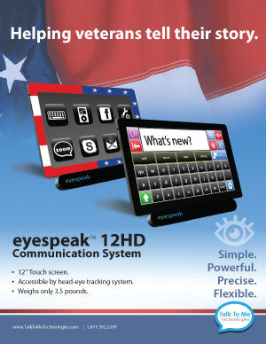 eyespeak 12HD for veterans