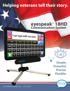 eyespeak 18HD for veterans