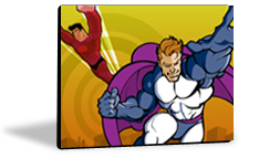 Speech Device Color Choice - Super Heroes to the Rescue