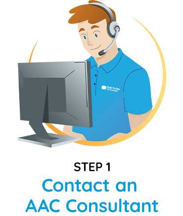 Step 1 - contact an AAC consultant