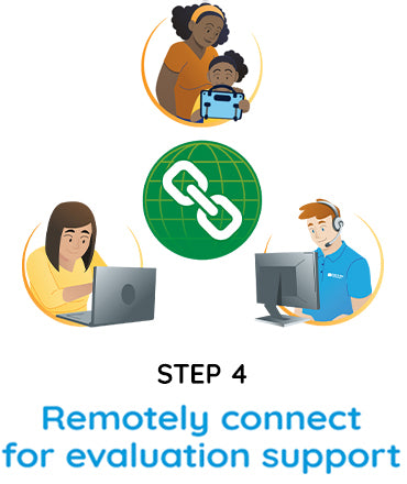 Step 4 - remotely connect for evaluation support