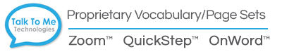 AAC Vocabulary Page Set Options