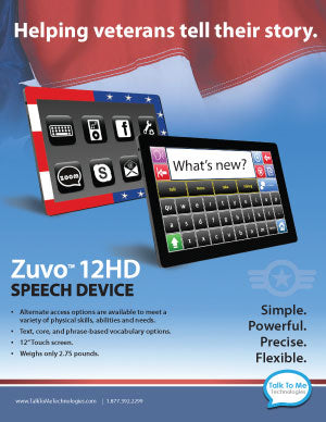 Zuvo 12HD for veterans
