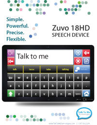 Zuvo 12 Speech Device