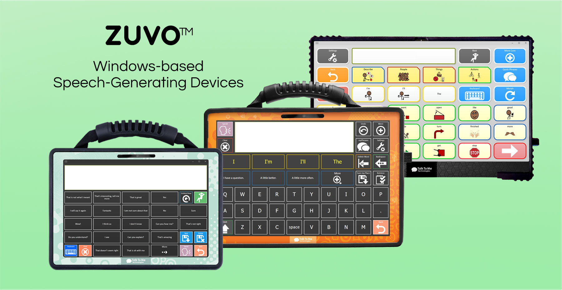 all zuvo devices