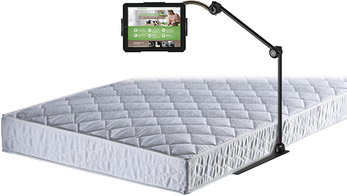 Bed Mount for iPad 2,3,4
