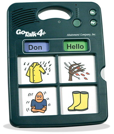 GoTalk 4+ AAC/Communication Device