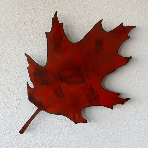Maple leaf wall hanging