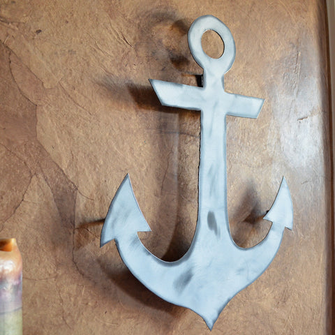 Anchor wall hanging