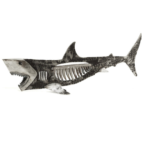 Shark  sculpture 48""