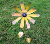 Sunflower flower stake
