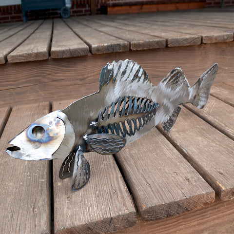 Walleye sculpture 20""
