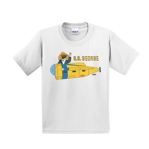 The Yellow Subnautic Kids Tee