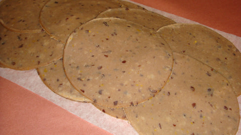 The black bean dynamite soft corn tortillas