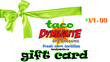 gift card | 3 packs & pick-up |