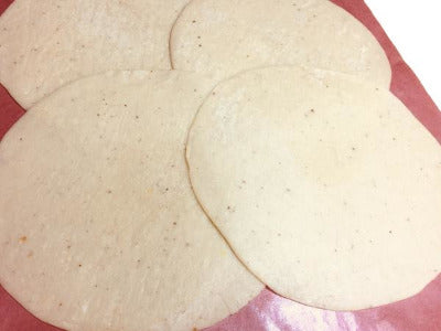 las tlayudas <br> | fresh corn tortillas |
