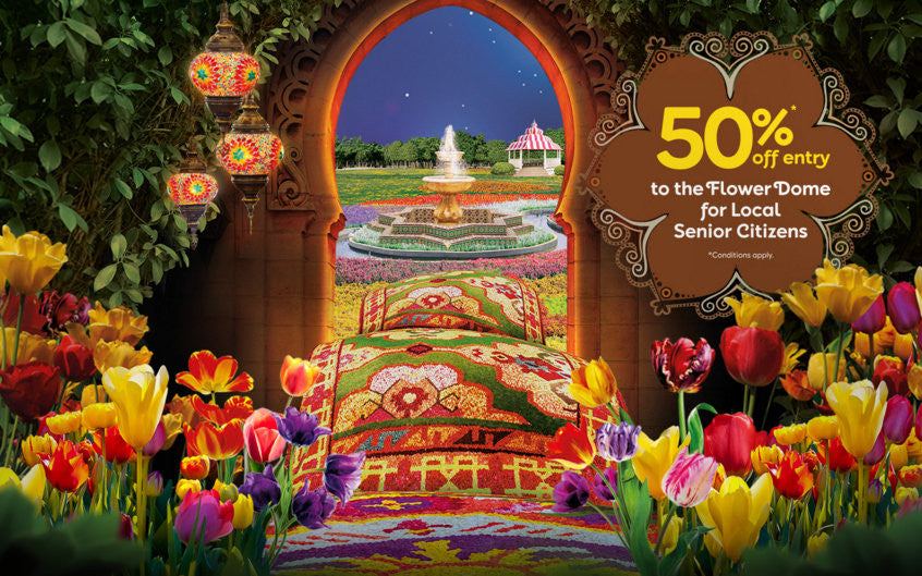 Festival Tulip Gardens By The Bay Singapore 2016