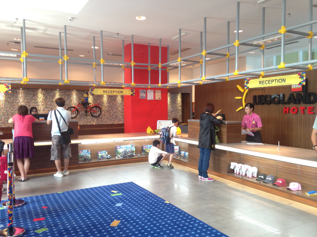 reception desk legoland hotel