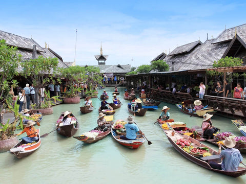 tiket pattaya floating market