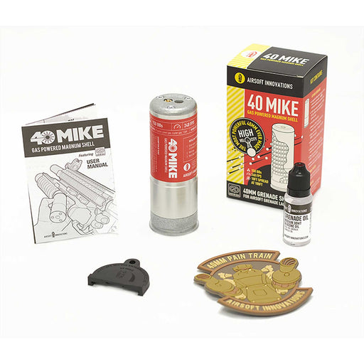 Airsoft Innovations 40 Mike Gas Powered Blast Shell