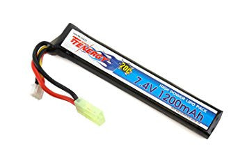 TENERGY 7.4v LIPO 1200mAh STICK