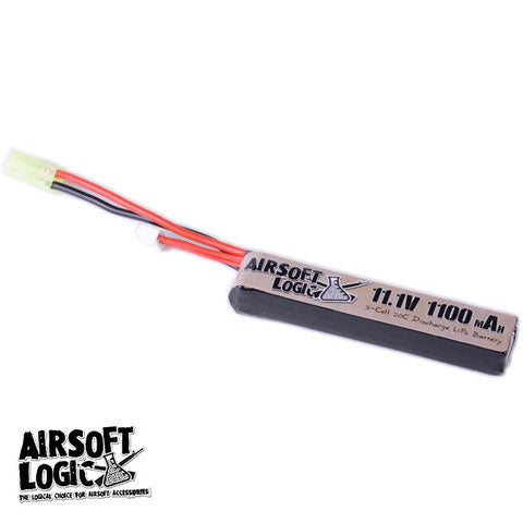 AIRSOFT LOGIC 11.1v LIPO 1100mAh STICK