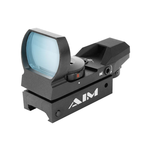 AIM Sports Reflex 1X34mm Dual Ill. w/4 Different Reticles - Classic Edition