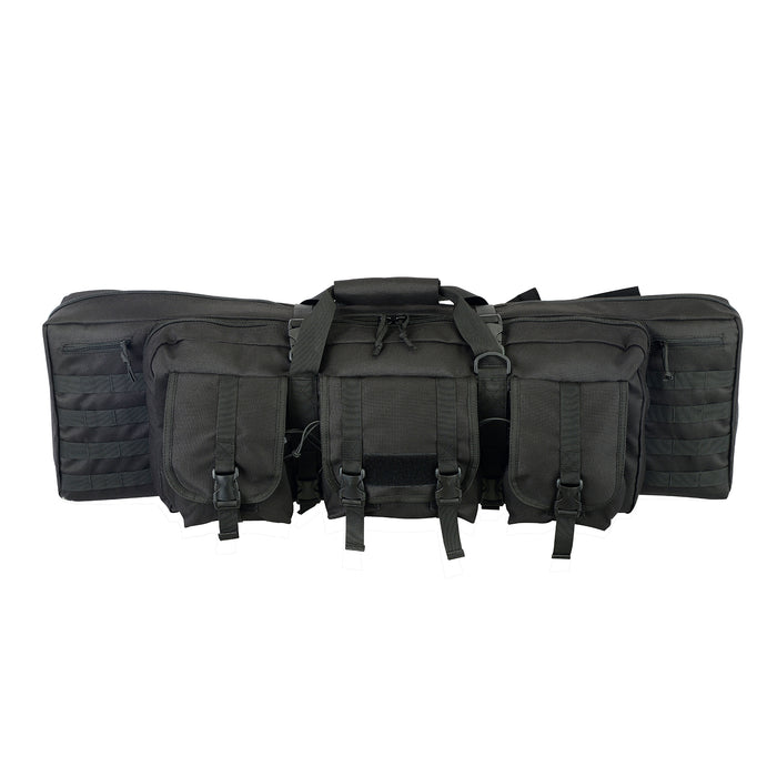 Gun Bag Double Black