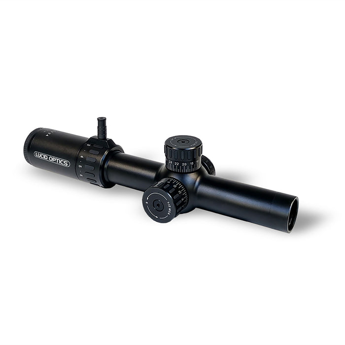 Lucid Optics 1-6x24 Rifle Scope w/P7 Reticle