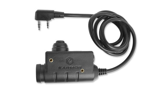 EARMOR M51 PTT (Kenwood) COMMS BLACK