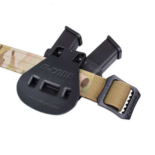 GCODE KYDEX DOUBLE PISTOL MAG CARRIER - PADDLE