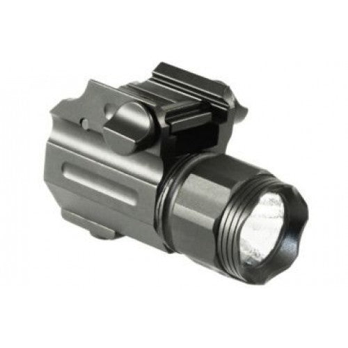 Pistol Combat Flashlight Black